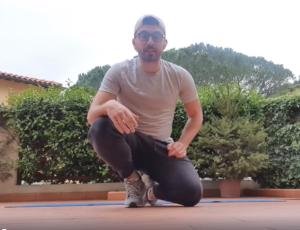Attività fisica con Fabrizio 3°settimana allenamento