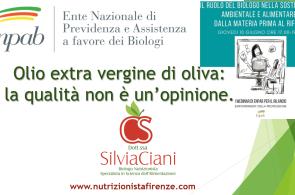 L'olio extravergine di oliva:...