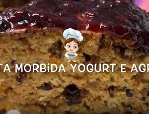 Torta Morbida allo Yogurt e Agrumi